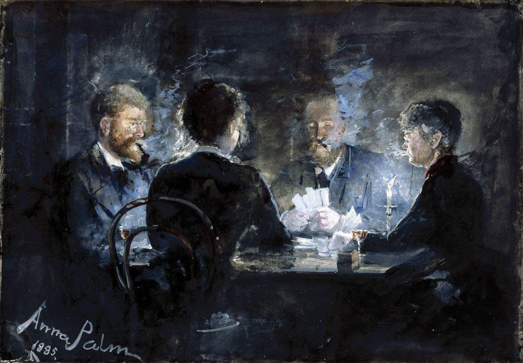 Anna Palm - Et l'hombre-parti på Brøndums Hotel (1891)